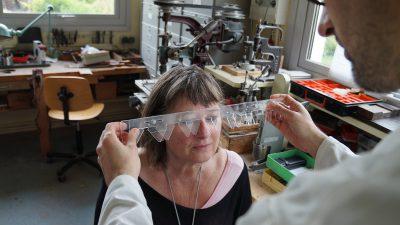 鼻の形状も測定