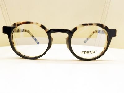 ブランド:FRENK EYEWEAR モデル:LOUIS カラー:01 価格:39,960円(税込)