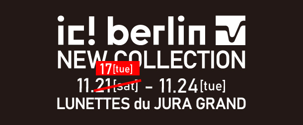 ic! berlin NEW COLLECTION 11.17-24
